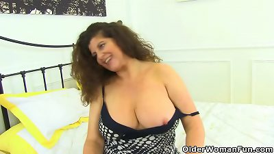 british Mom-I-would-Like-to-Fuck Jane lets you have a excellent sight of her nail fuckhole