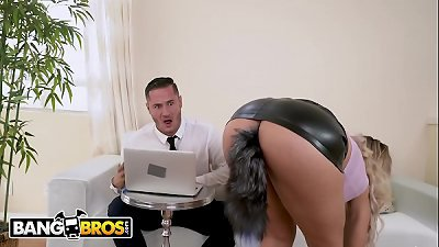 BANGBROS - latin mother secretary Assh Lee Gets Her sphincter stretched By Her boss