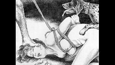Slaves to strap japanese art bizarre bondage extreme sadism & masochism painful fierce punishment asian fetish